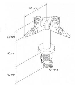 Double 'Y'-Type Gas Standout ( BROEN-DENMARK)
