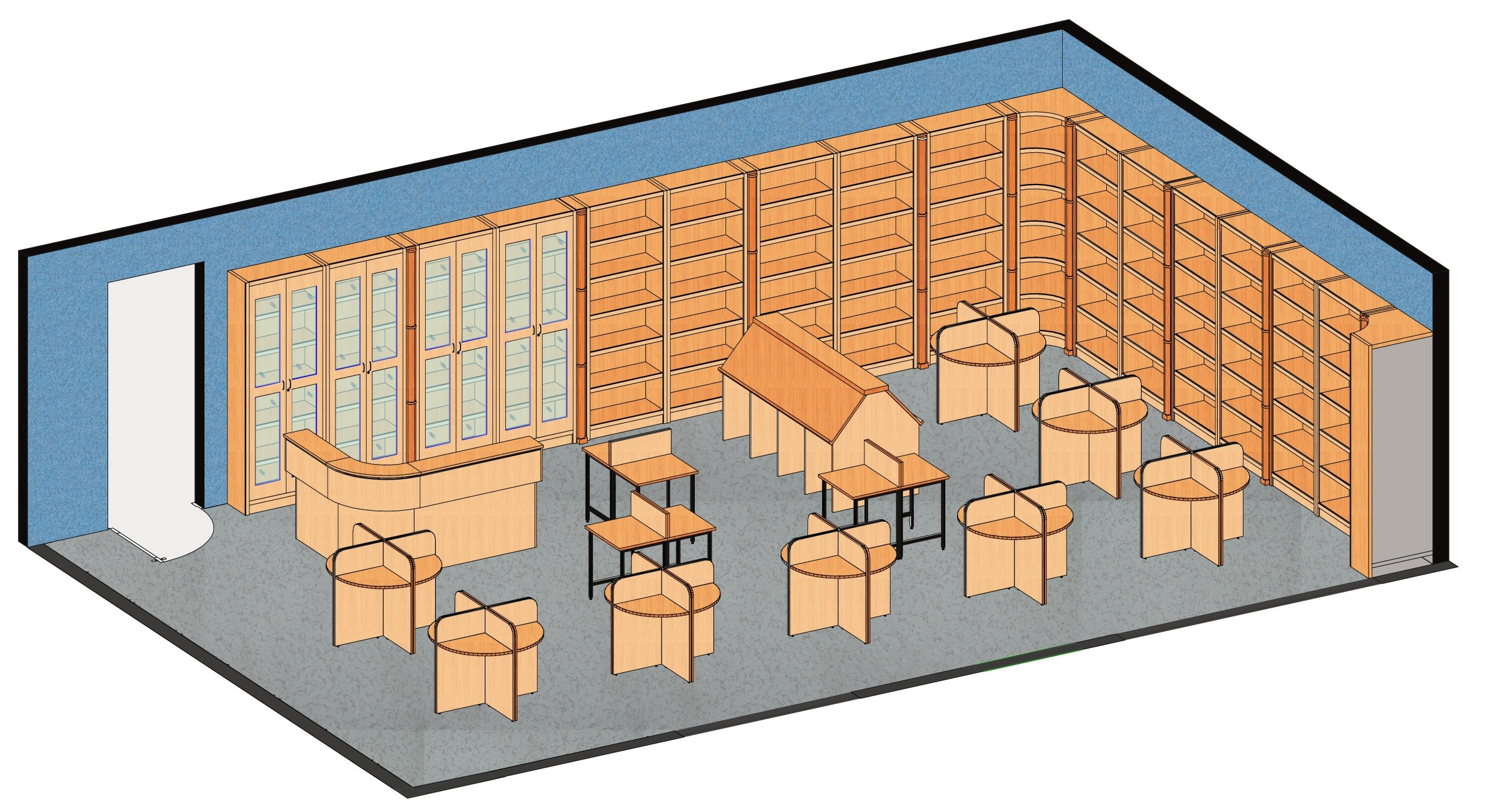 Library Furniture Midlab